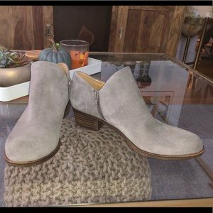 Lucky Brand Titanium Ankle Boots